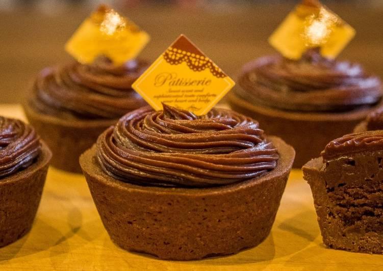 Chocolate Ganache Tart (Mini Tart) ★Recipe Video★