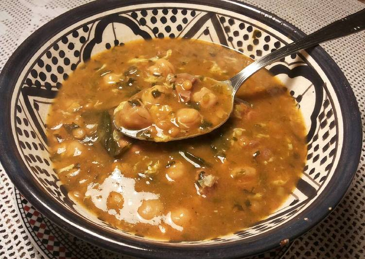 Foto principal de Harira o sopa tradicional marroquí