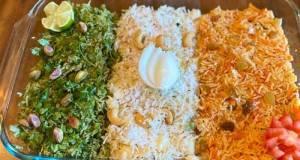 Tiranga Pulao (Tri-color Rice)