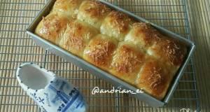 Roti Sobek Keju Tanpa Ulen