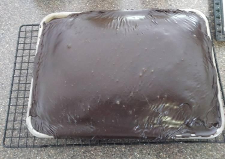 Denver Chocolate Sheet Cake