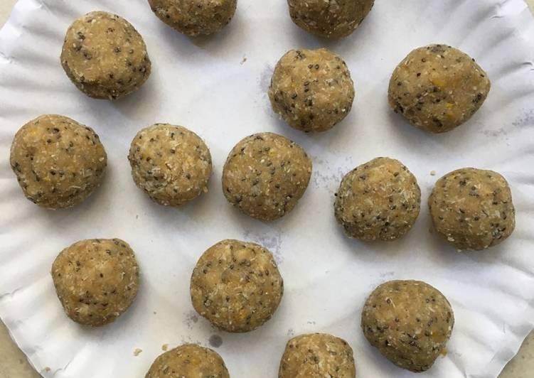 Lemon pie protein balls