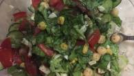 Permalink to Recipe: Yummy Light Chickpeas Salad