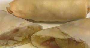 Oil Free/Mess Free - Easy Crispy Egg Roll (Air Fryer, Microwave)