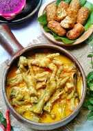 Cara Memasak Sayur Gori Bumbu Rendang : memasak, sayur, bumbu, rendang, Resep, Ceker, Sederhana, Rumahan, Cookpad