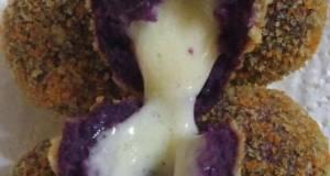 Bola2 ubi ungu mozarella