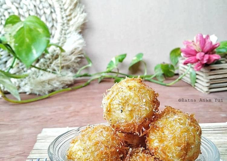 Curly Potato Cheese Balls