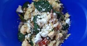 Mediterranean Style Scrambled Eggs