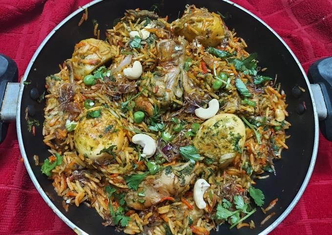 Spicy Bombay Chicken Biryani