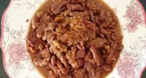 Dabing Babi Kecap Saus Tiram