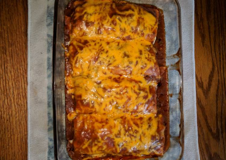 Chili Colorado Smothered Burritos (Red Sauce Version)