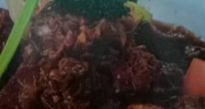 Resep oseng daging sapi