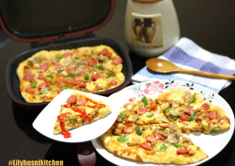 Chicken Pizza & Sosis Happy call