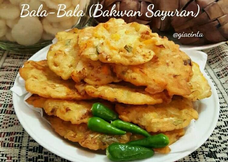 Bala-Bala (Bakwan Sayur)