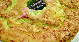 Chiffon cake pandan keju