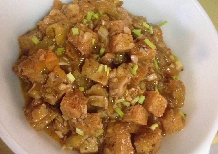Chicken & Tofu in Tomato