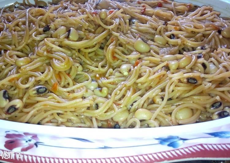 Beans & spagetti jollof