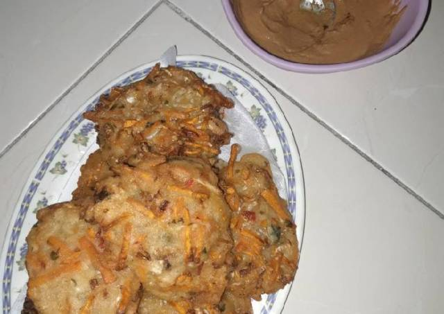 Bala-Bala/Ote-Ote/Bakwan Sayur/gorengan renyah
