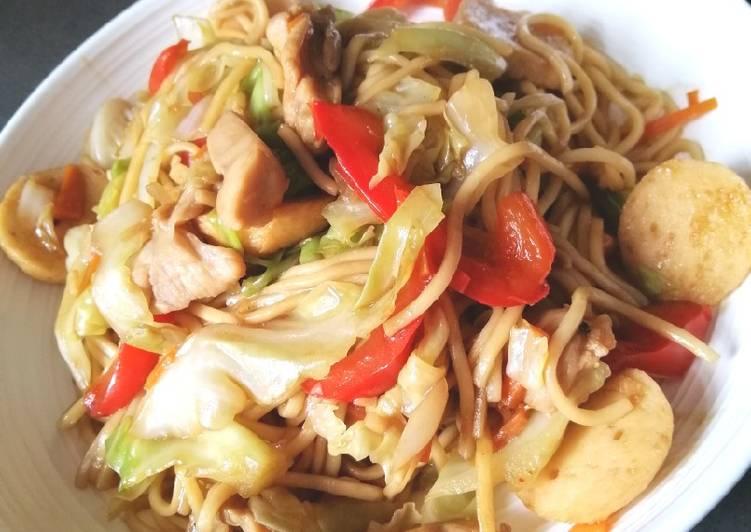 , Recipe: Delicious Chow Mein