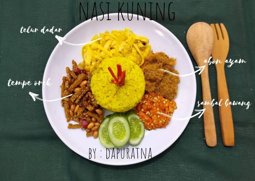 Langkah-langkah Membuat Nasi Kuning ala Rumahan