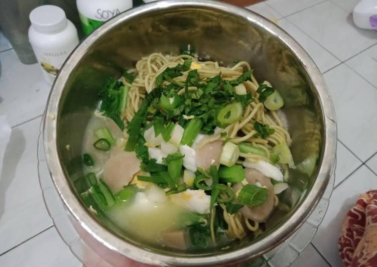 Mie rebus sehat ala anak kos (for diet)