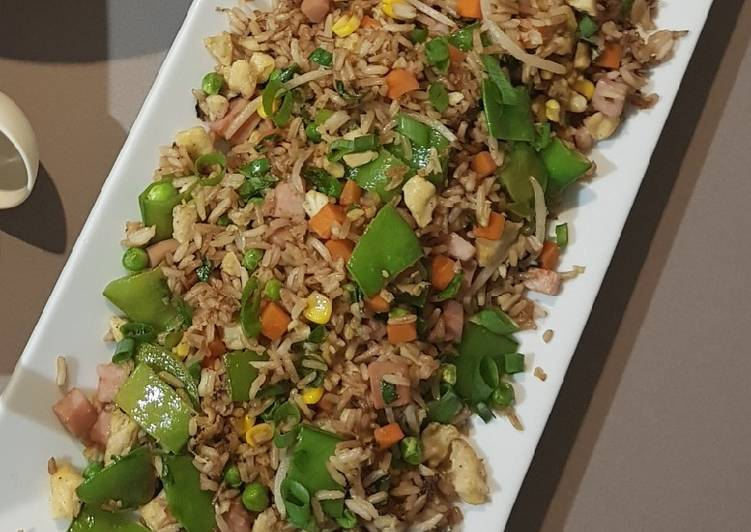 , Easiest Way to Make Yummy Special Fried Rice (Chinese)