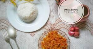 Sambal Bawang Teri Nasi
