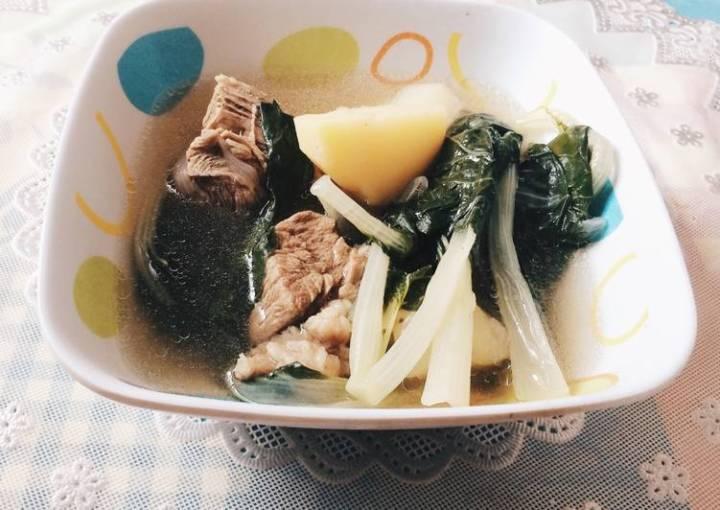 Affordable and easy to cook Nilagang Baka :)