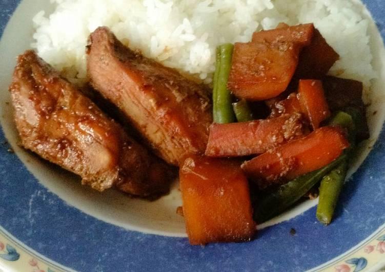 , How to Prepare Perfect Chinese honey garlic chicken