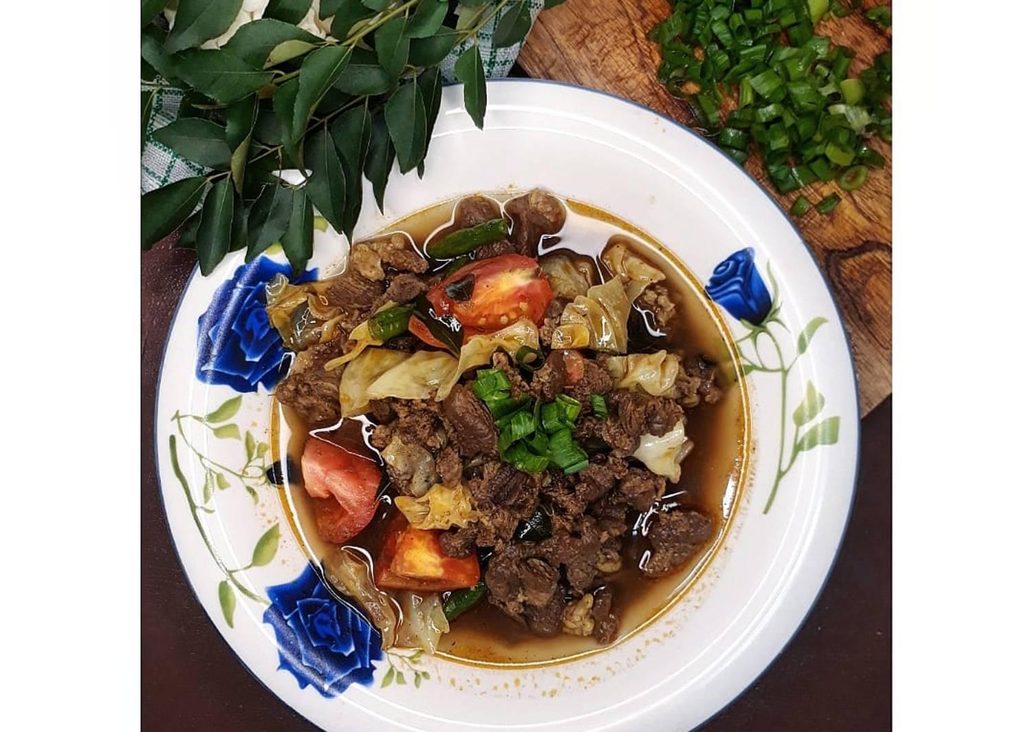 Resep Kari Daging Bumbu Indofood Part 1 Remas Nu