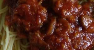 Spaghetti Bolognaise Meat Ball