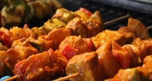 Vegetable Paneer Tikka Grill