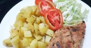 Steak Ayam Kentang, Rosemary Chicken Steak (42)