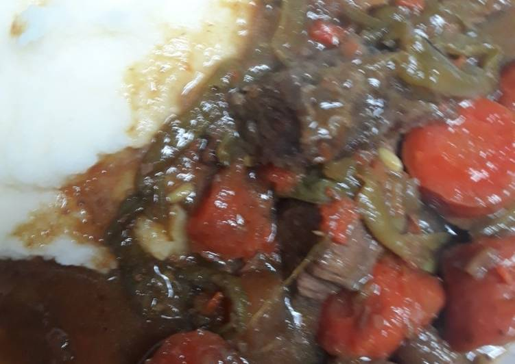 Beef and Vegetable Boil