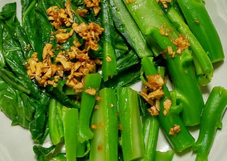 , How to Make Tasty Boiled Chinese Broccoli