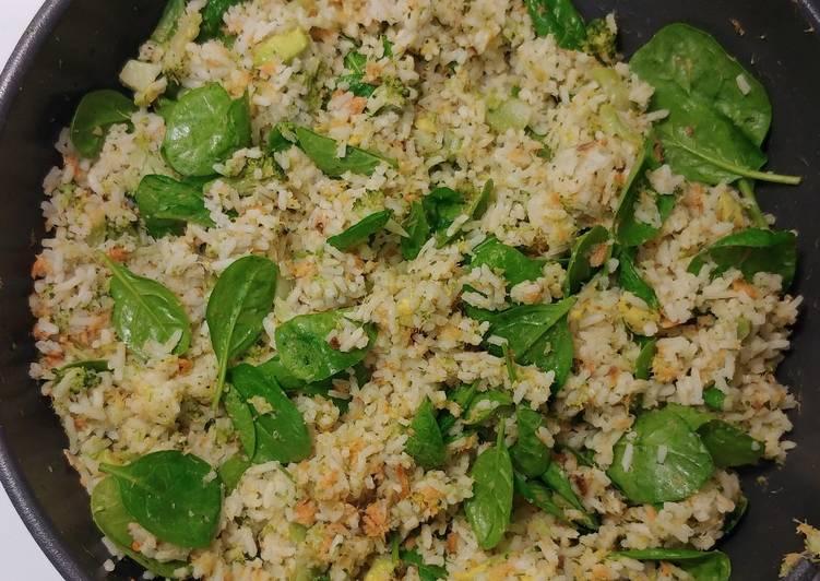 Smoked Salmon & Veggie Rice