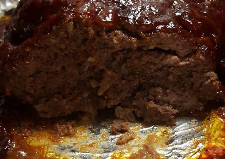 Sharon's BBQ meatloaf