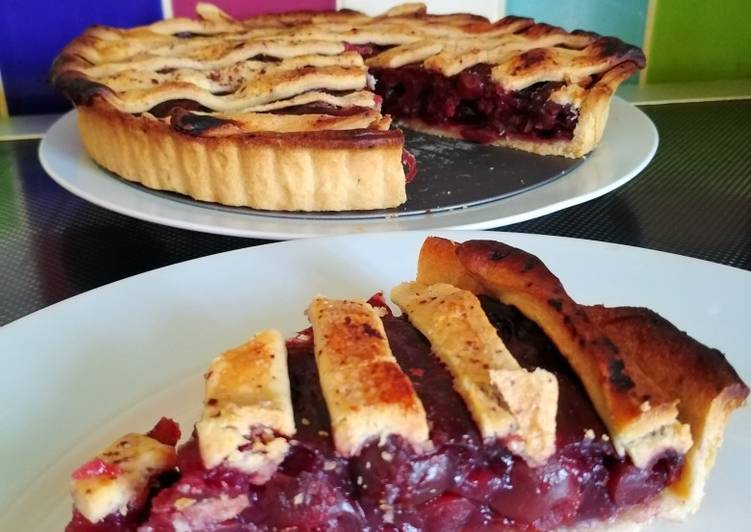 Vickys Cherry Pie GF DF EF SF NF