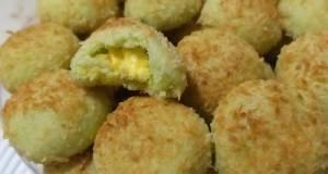 Kukis Kelapa Pandan Isi Lemon (coconut Cookies)