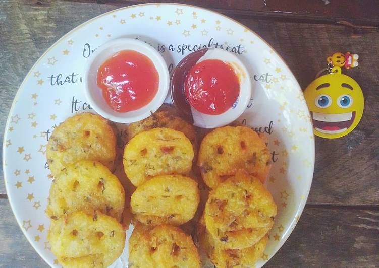 Potato Cheese Celery Smile Or Kentang Keju Seledri TerSenyum