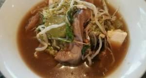 Mixed Mushroom & Tofu Soup (Vegan/Vegetarian/Low Carb)