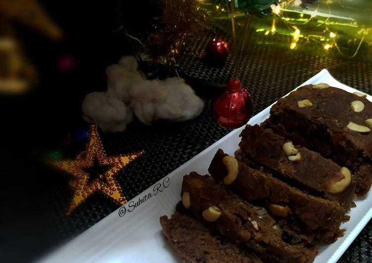 """""""Christmas special eggless Plum Cake"""""""