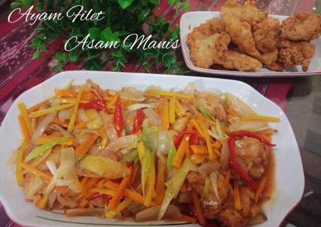 Ayam Filet Asam Manis