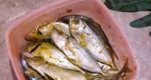 Ikan bumbu kuning si bombay
