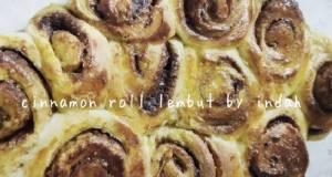 Cinnamon Roll Lembut tanpa mixer