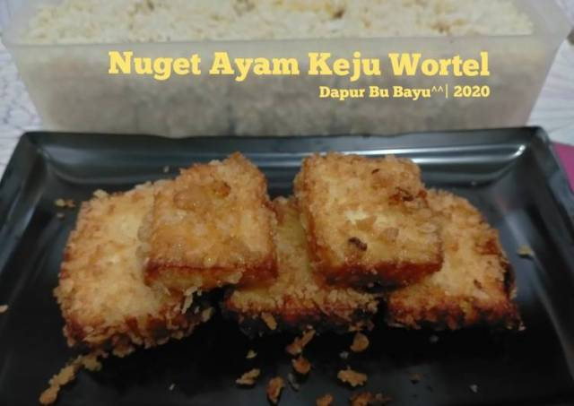 Nuget Ayam Keju Wortel