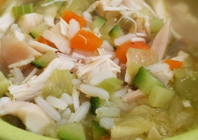 Baby/Toddler Fave Chicken and Rice Soup