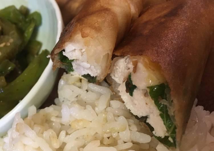 Spring rolls (shiso + umeboshi + sea weed)