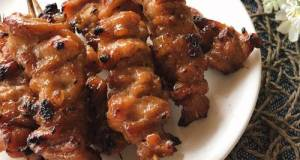 🧑🏽🍳🧑🏼🍳 Pork BBQ • Thai Style Pork Skewer Recipe • Moo Ping |ThaiChef Food