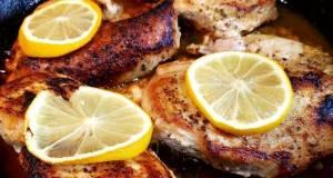Lemony Brown Butter Chicken